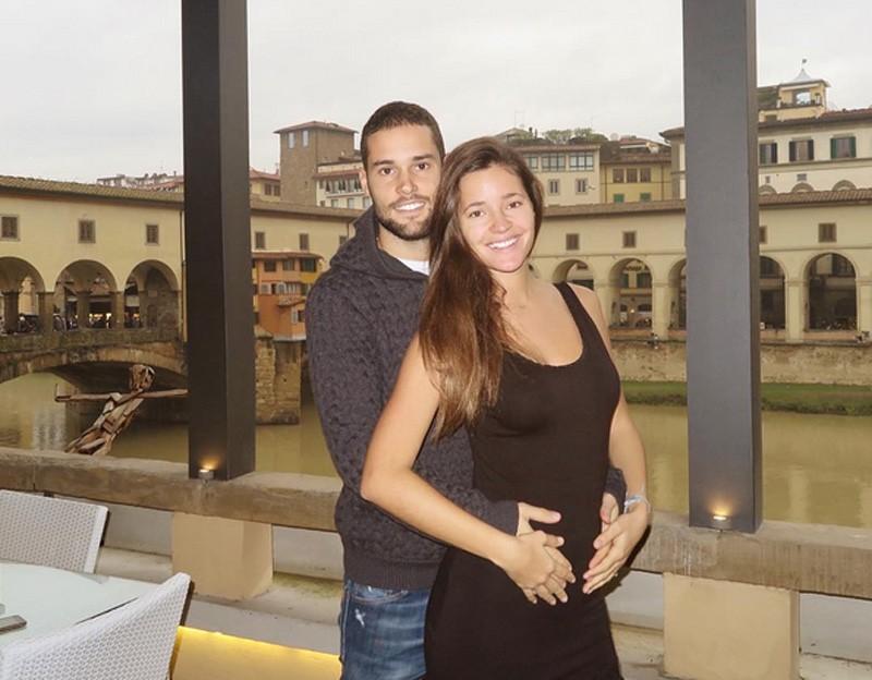 Malena Costa y Mario Suárez esperan su primer hijo
