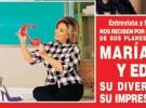 María Teresa Campos y Edmundo (Bigote) Arrocet posan para ¡Hola!