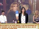 Rosa Benito responde a las declaraciones de Amador Mohedano en Diez Minutos