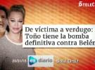 Belén Esteban no tiene miedo a la artillería pesada de Toño Sanchís