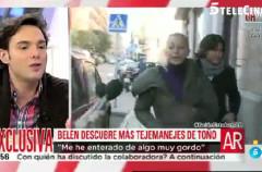 Toño Sanchís se habría quedado con el 100 % de algunos trabajos de Belén Esteban