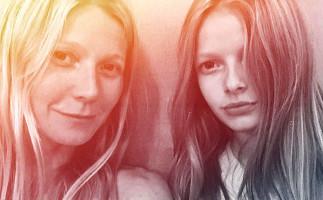 Gwyneth Paltrow comparte una foto con su hija Apple en Instagram
