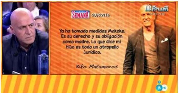 Kiko Matamoros habla de su situación familiar en sus memorias