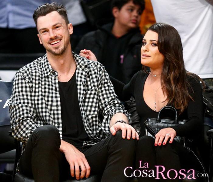 Lea Michele, de nuevo soltera tras romper su relación de dos años con Matthew Paetz