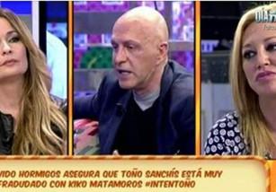 Olvido Hormigos vuelve a ser representada por Toño Sanchís