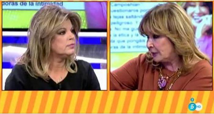 Terelu Campos responde a la carta de Mila Ximénez en Lecturas