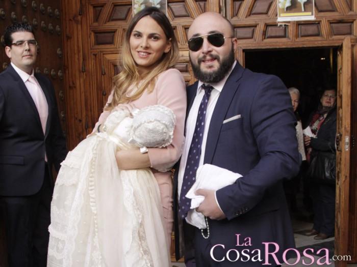 Isabel Pantoja estuvo en un reservado durante la celebración del bautizo de su nieta