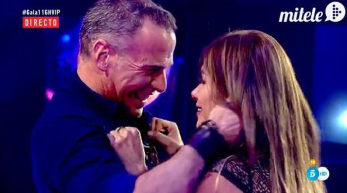 Carlos Lozano no recibe una sorpresa de su hija por la presencia de su novia en GH VIP 4