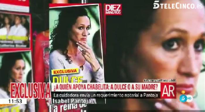 Chabelita se posiciona junto a Dulce en su enfrentamiento legal contra su madre
