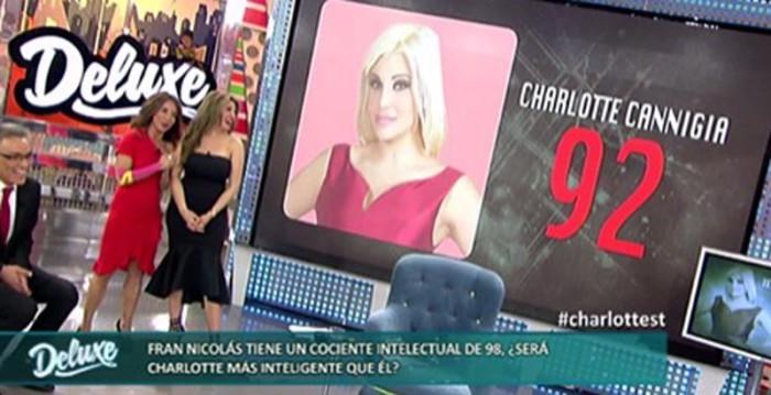 Charlotte Caniggia sorprende por su bajo cociente intelectual en Sálvame deluxe