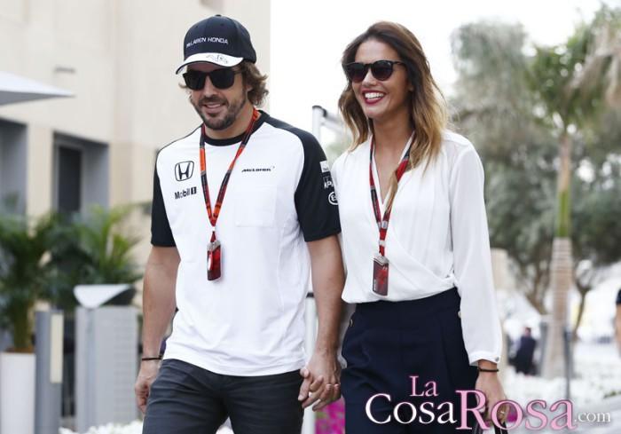 Fernando Alonso y Lara Álvarez, ruptura tras casi un año y medio de relación