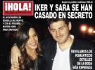 Iker Casillas y Sara Carbonero se dan el «sí, quiero» en secreto