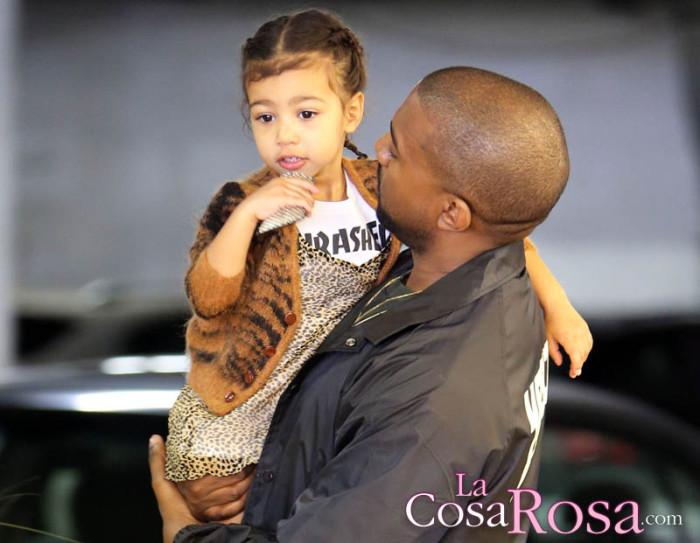 Kanye West y los rumores de que no es el padre de North West