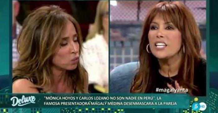Magaly Medina comenta la trayectoria de Mónica Hoyos y Carlos Lozano en Perú