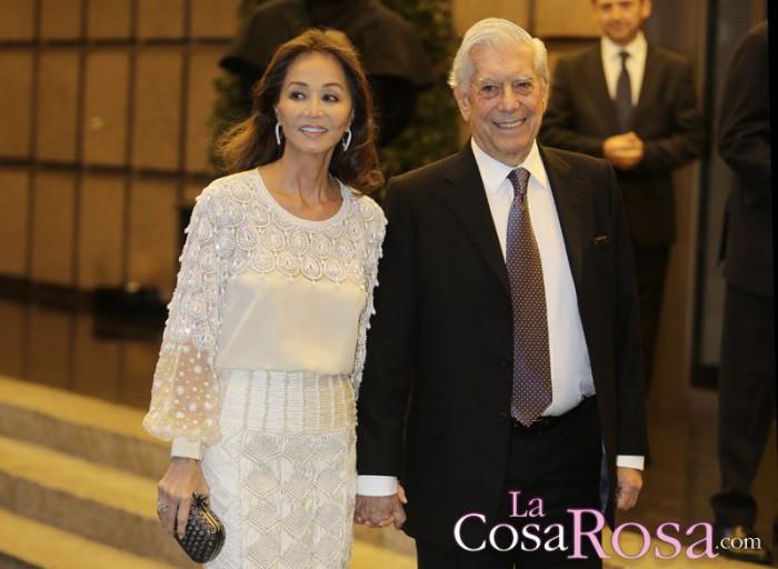 Mario Vargas Llosa celebra su 80 cumpleaños con Isabel Preysler y por todo lo alto