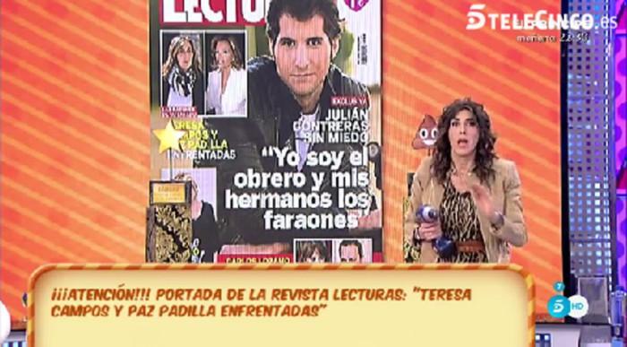 Paz Padilla desmiente estar enfrentada con María Teresa Campos