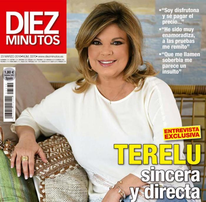 Terelu Campos comenta su presente en Diez Minutos