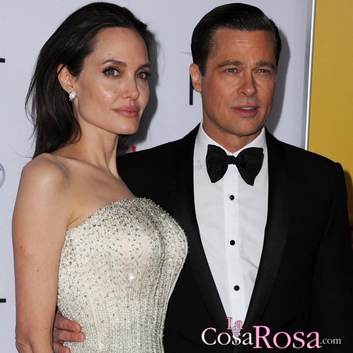 Angelina Jolie le pide un test de paternidad a Brad Pitt