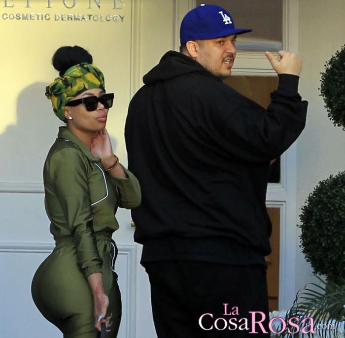 Rob Kardashian le pide matrimonio a Blac Chyna con un anillo valorado en 660.000 euros