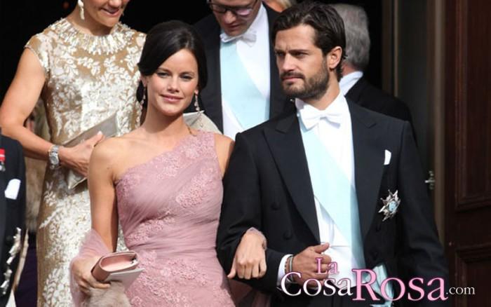 Carlos Felipe y Sofia de Suecia ya son padres de un niño