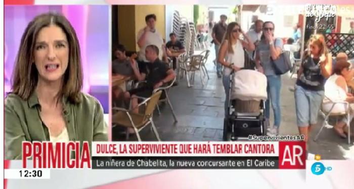 Dulce se convierte en concursante-estrella de Supervivientes 2016