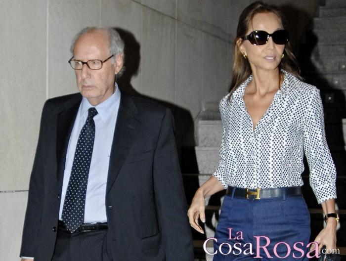 Miguel y Laura Boyer se enfrentan judicialmente a Isabel Preysler por la herencia de su padre