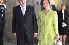 Los Reyes eméritos Juan Carlos y Sofía aparecen juntos en Suecia