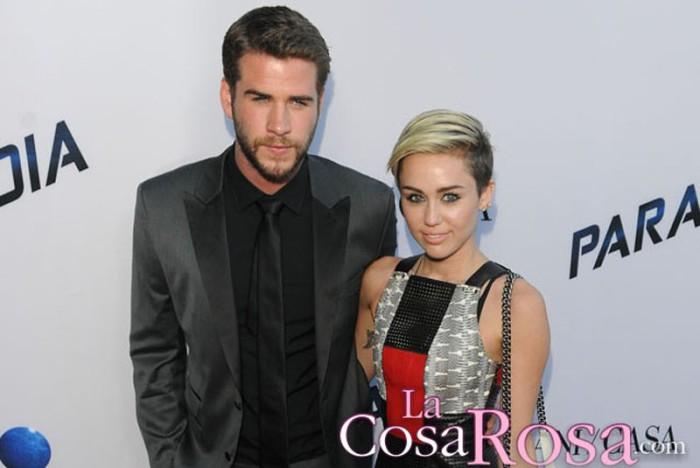 Liam Hemsworth da marcha atrás a sus planes de boda con Miley Cyrus