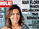 Mar Flores se convierte en portada de ¡Hola! para hablar de su separación