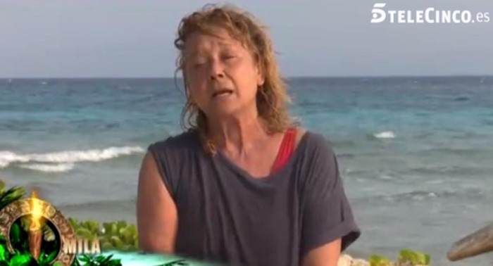 Mila Ximénez sufre un bajón en Supervivientes 2016