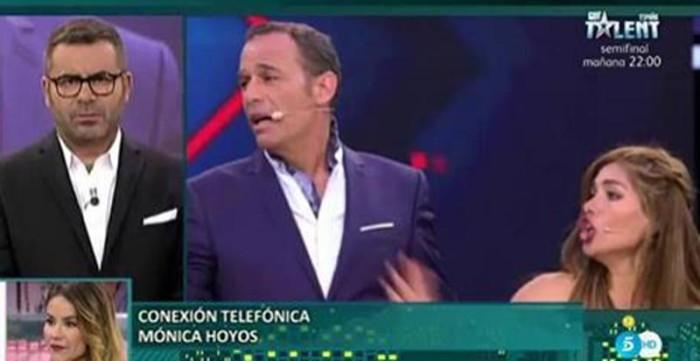Mónica Hoyos se muestra molesta con Carlos Lozano y su novia