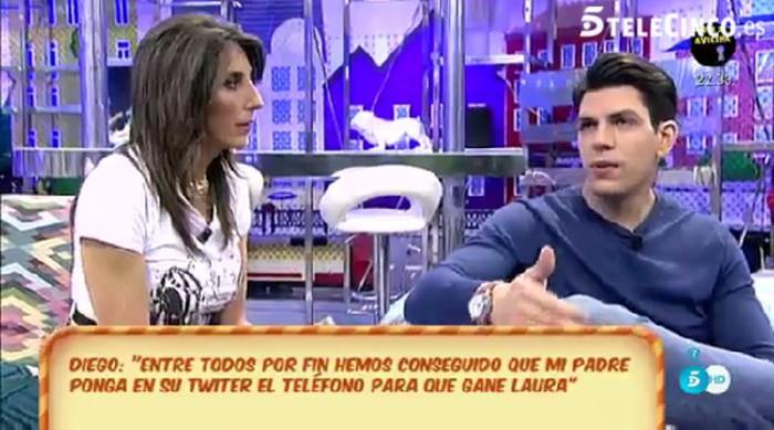 Kiko y Diego Matamoros ya tienen lista la reconciliación televisiva de su familia