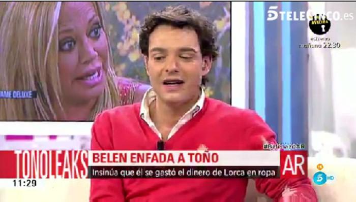 Los insultos de Toño Sanchís en público a Belén Esteban