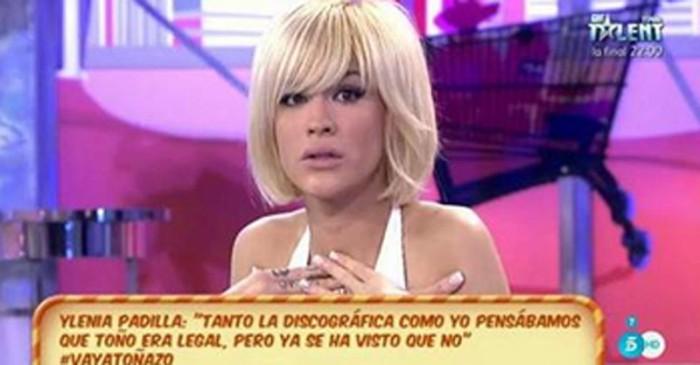 Ylenia Padilla también reclama sus papeles a Toño Sanchís