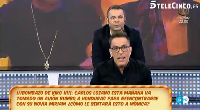Carlos Lozano le dará una sorpresa a Miriam Saavedra en Honduras
