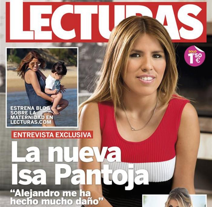 Chabelita habla de Alejandro Albalá y anuncia blog en Lecturas