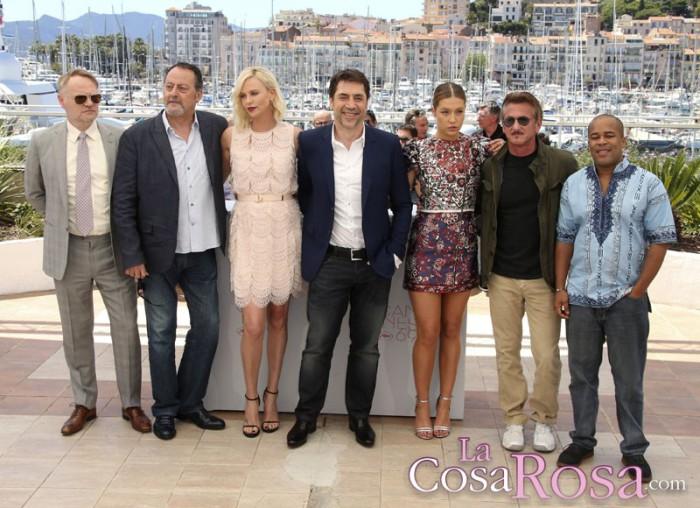 Charlize Theron y Sean Penn se ignoran manteniendo las distancias en Cannes