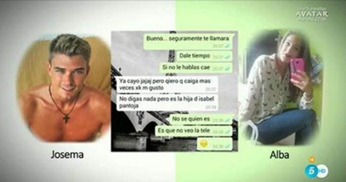 Las intimidades de Chabelita y Josema Ortiz al descubierto en Sálvame Deluxe