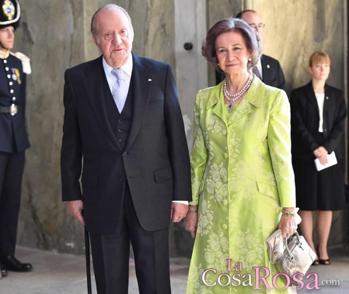Los detalles del encuentro de los reyes Juan Carlos y Sofía en Suecia