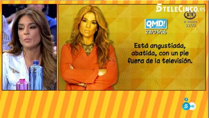 Raquel Bollo desmiente que vaya a dejar la televisión como cuenta QMD