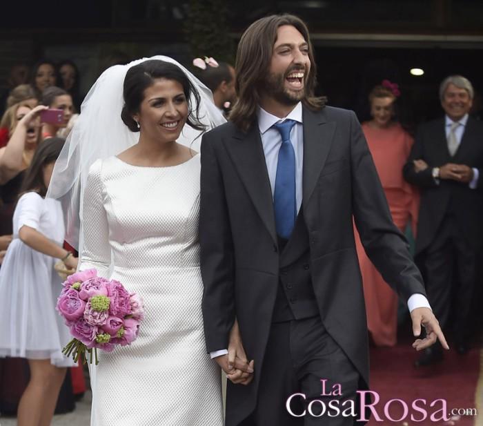 Sara Verdasco y Juan Carmona se dan el sí quiero