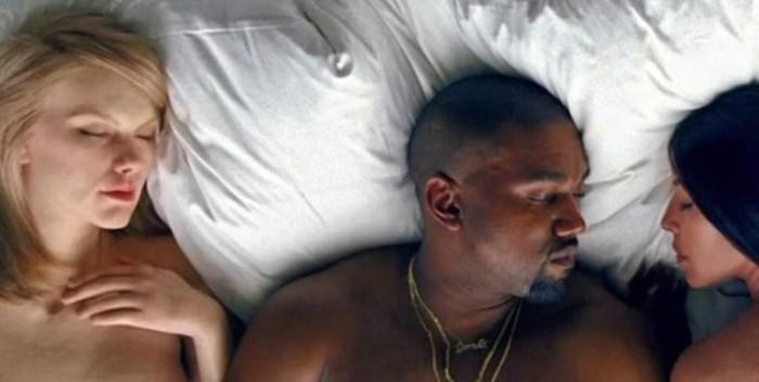 """Kanye West y su polémico vídeo con """"famosos"""" desnudos"""