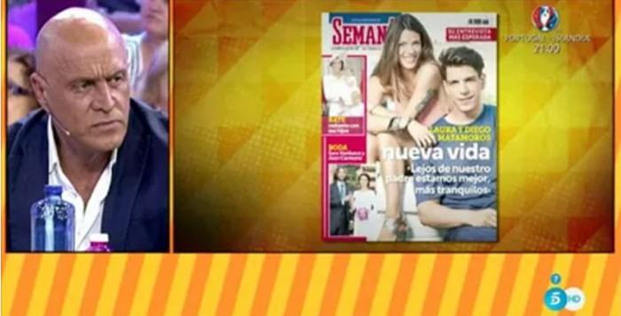 Laura y Diego Matamoros, portada de Semana, con ruptura sentimental y cambio de apellido