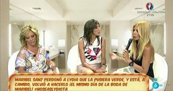 Maribel Sanz reaparece para cargar contra Lydia Lozano