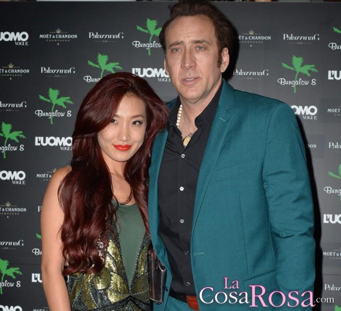 Nicolas Cage se ha separado de su esposa Alice Kim