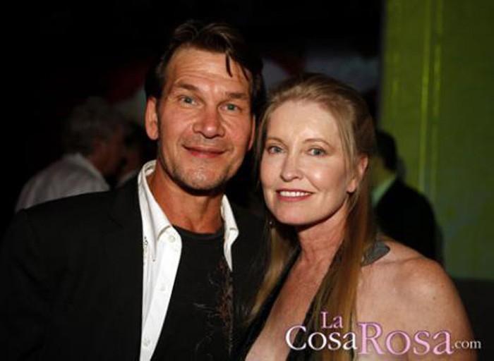La viuda de Patrick Swayze acusada de maltratarle durante su enfermedad