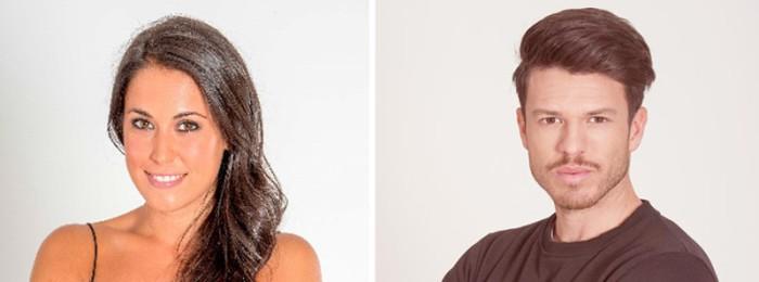 Raquel y Fede, nueva pareja de exconcursantes de Gran Hermano