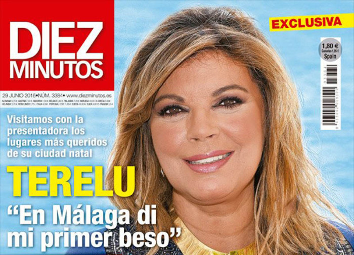 Terelu Campos recorre Málaga y repasa su vida en Diez Minutos