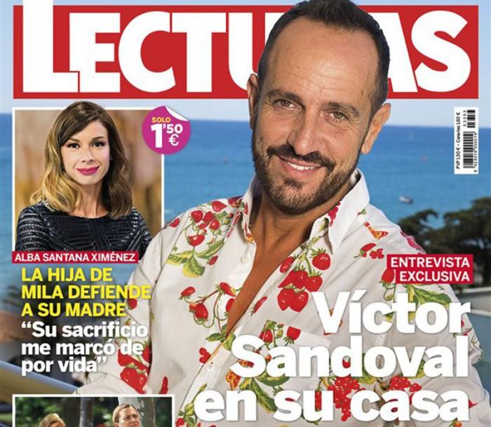 Víctor Sandoval, su nueva vida tras Supervivientes 2016 en Lecturas