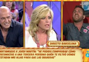 Jordi Martín, duros ataques contra los colaboradores de Sálvame